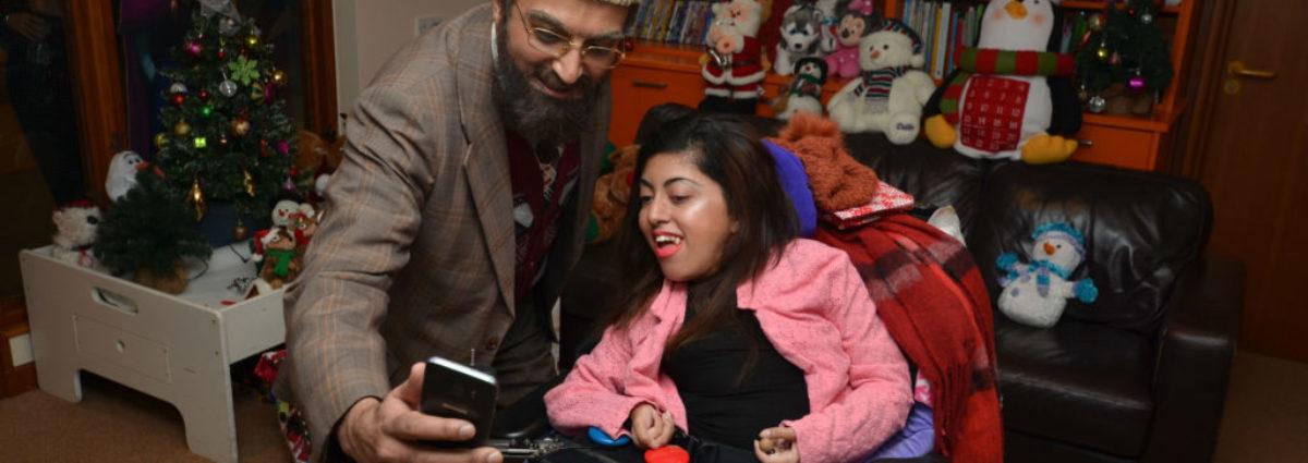Citizen Khan visits families at Acorns Childrens Hospice