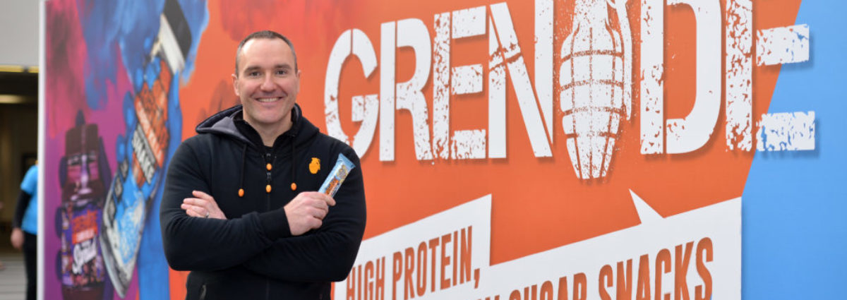 Grenade's Snacking Revolution stops in Birmingham
