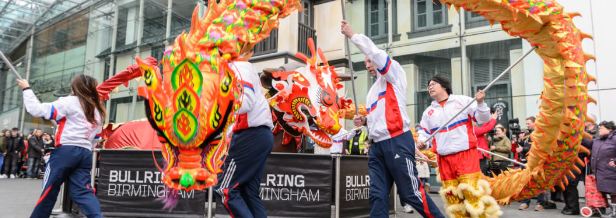 Chinese New Year photos by Simon Hadley on behalf of Birmingham Hippodrome