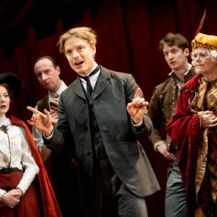 Freddie Fox (Edmond) photo in Edmond de Bergerac by Graeme Braidwood