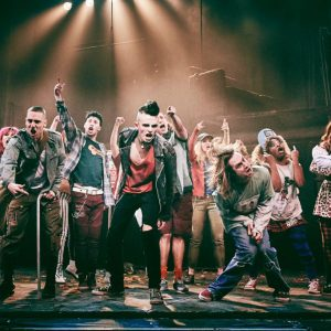 American Idiot Production photo by Mark Dawson Photography