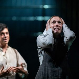 James Cooney and Lucy Phelps Photo by Helen Maybanks c RSC