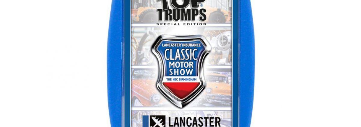 Lancaster Insurance Classic Motor Show Top Trumps