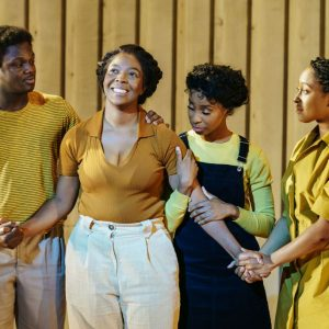 The Color Purple: Owen Chaponda (Adam), T'Shan Williams (Celie), Perola Congo (Olivia) and Danielle Fiamanya (Nettie) Photography by Manuel Harlan