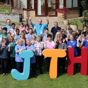 John Taylor Hospice team 2019