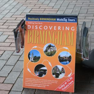 Positively Birmingham Walking Tour photos via positivelybirmingham.co.uk
