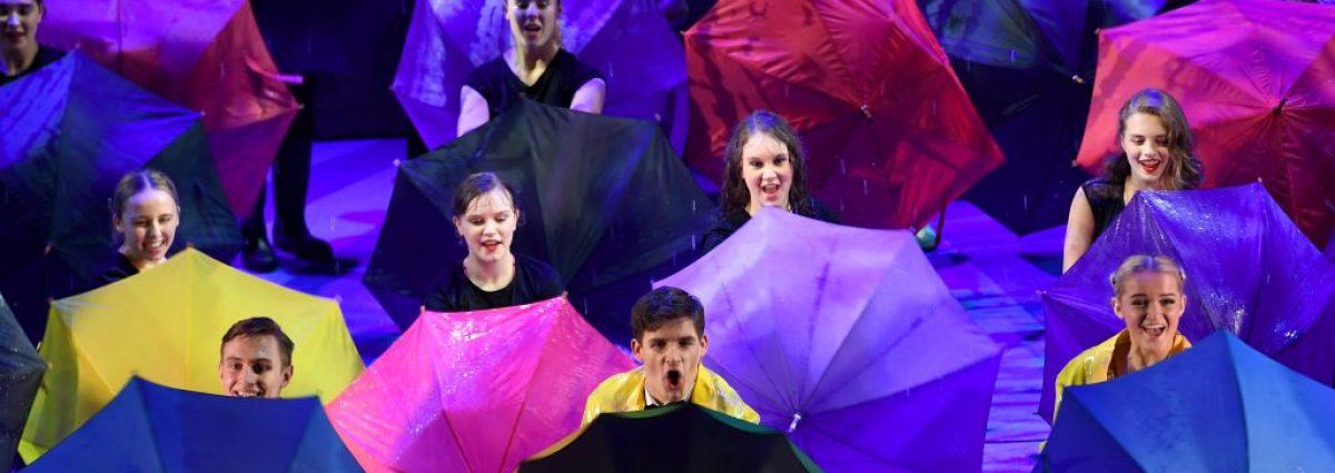 Singin' In The Rain photos by Sam Bagnall