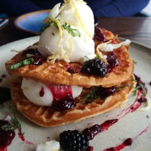 Waffles photos by Dave Massey