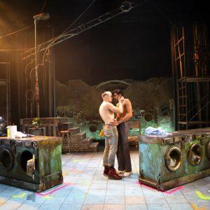 Jonny Fines and Omar Malik as Omar Photography by Ellie Kurttz