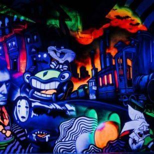 pitpat mural
